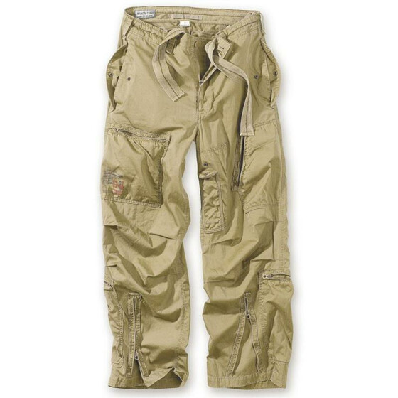SURPLUS Infantry Cargo Trouser, stonewashed, camel L / 90 cm