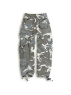 SURPLUS Airborne Vintage Trouser, stonewashed, night camo S / 85 cm
