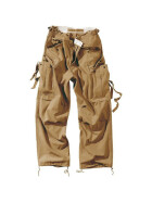 SURPLUS Vintage Fatigues Trousers, beige S / 84 cm