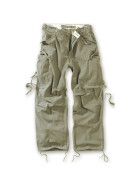SURPLUS Vintage Fatigues Trousers, oliv M / 89 cm