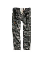 SURPLUS PREMIUM TROUSERS SLIMMY, black camo XL / 96 cm