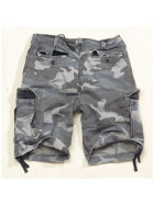 SURPLUS Vintage Bermuda, night camo M / 90 cm
