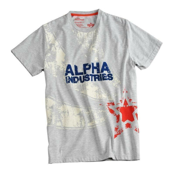 Alpha Industries S&S T, grey heather