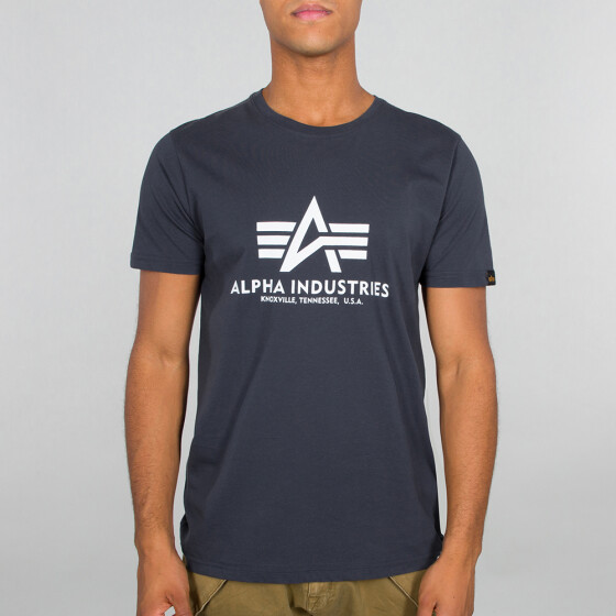 Alpha Industries  BASIC T, navy XL