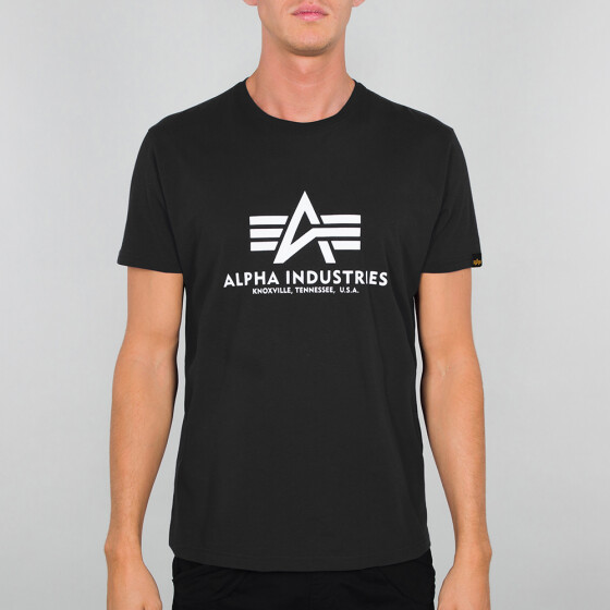 Alpha Industries BASIC T, black 4XL