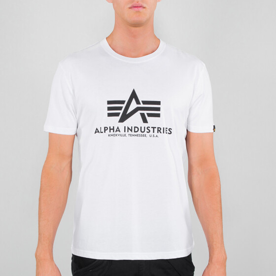 Alpha Industries BASIC T, white XL