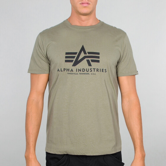 Alpha Industries BASIC T, olive S