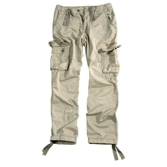 Alpha Industries  Jet Pant, bone white