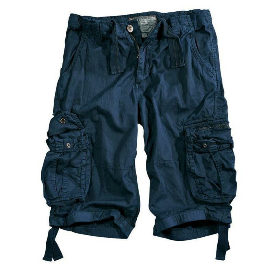 Alpha Industries  JET Shorts, rep. blue 32 inches