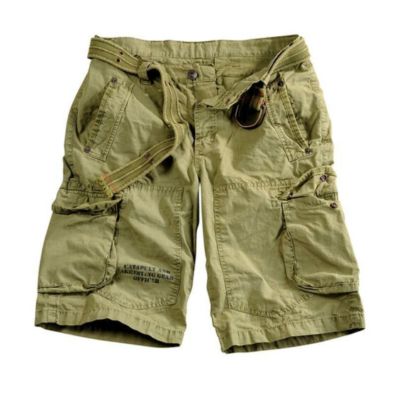 Alpha Industries Edge Short, light olive 31 inches