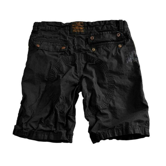 Alpha Industries Pace Short, black 34 inches