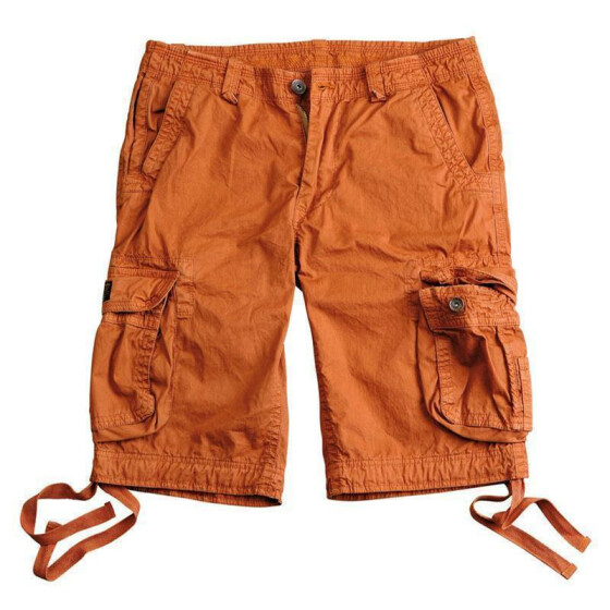 Alpha Industries Twister Short, burned orange 31 inches