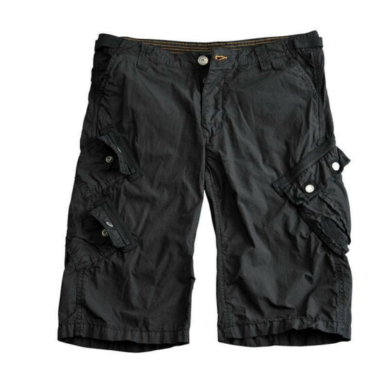 Alpha Industries Bullet Shorts, black 31 inches