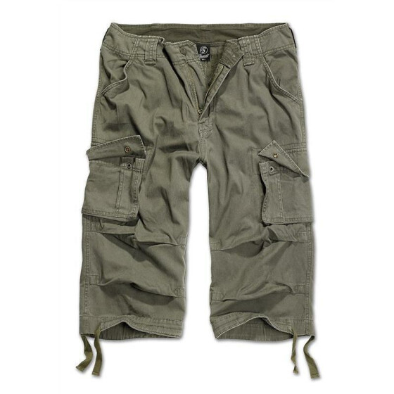 BRANDIT Urban Legend 3/4 Shorts, olive L