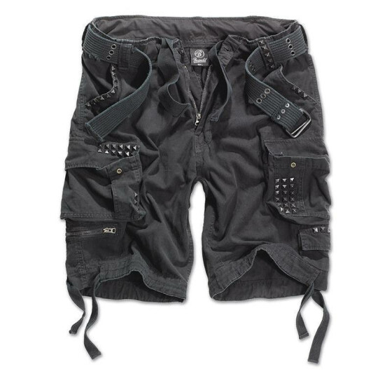 BRANDIT Savage Studs, black XXL