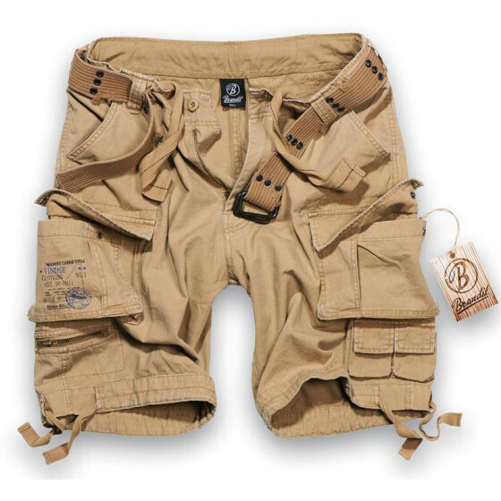 BRANDIT Savage Shorts, beige 4XL