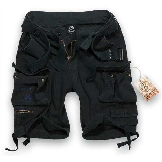 BRANDIT Savage Shorts, black M