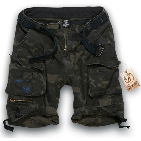 BRANDIT Savage Shorts, dark camo 4XL