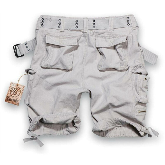 BRANDIT Savage Shorts, old white L