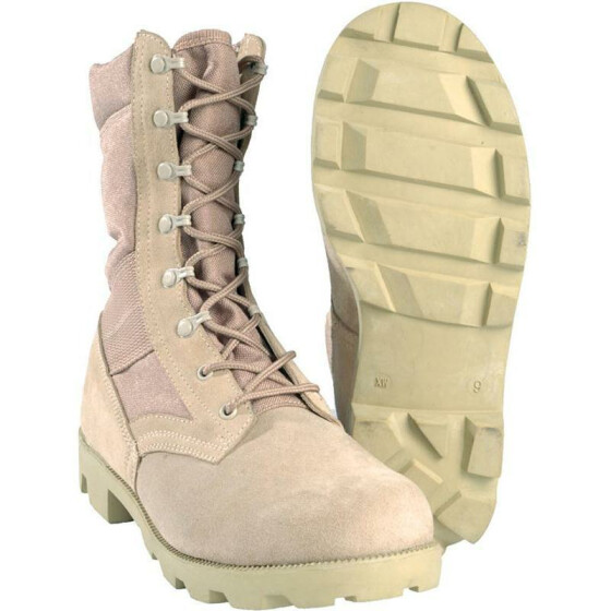 MILTEC US Desertstiefel Speed Lace, khaki UK 11 | US 12 | EU 45