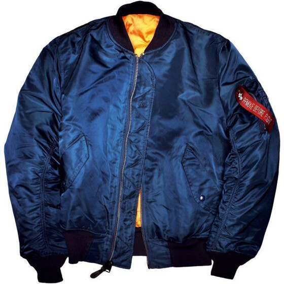 Alpha Industries  US Pilotenjacke MA-1, navy M