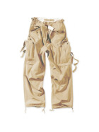 SURPLUS Vintage Fatigues Trousers, light beige S / 84 cm