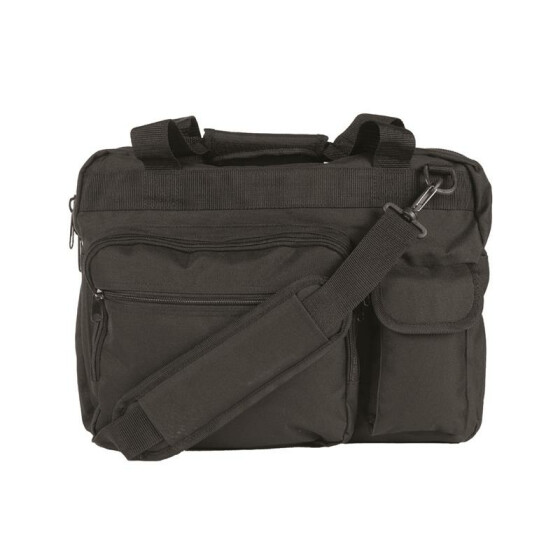 MILTEC AKTENTASCHE M.LAPTOP BAG, schwarz