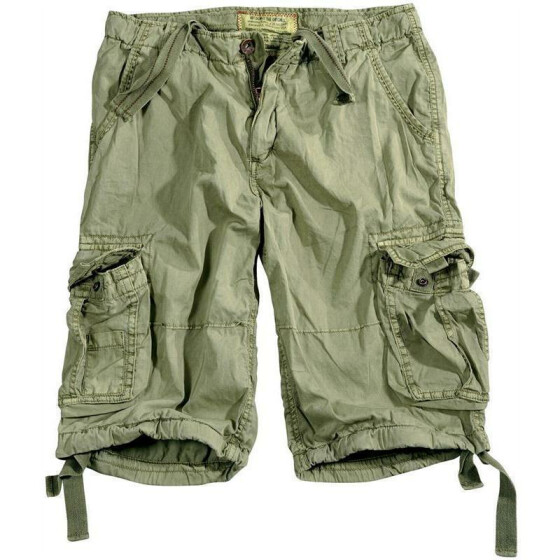 Alpha Industries  JET Shorts, light olive 30 inches