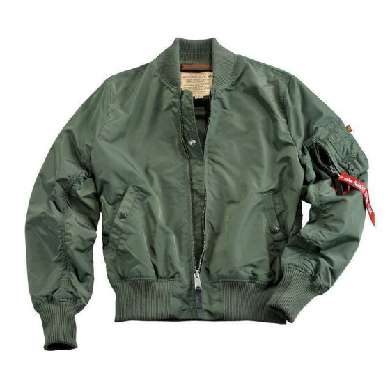 Alpha Industries MA-1 TT, sage green S