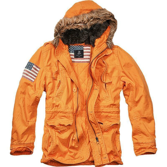 BRANDIT Vintage Explorer Stars & Stripes, orange