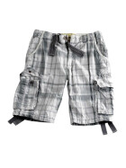 Alpha Industries JET 2 Shorts, grey checked
