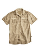 Alpha Industries Coal Dyed Shirt, wsh. khaki