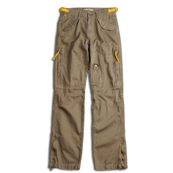 Alpha industries Flight Pant Custom VF, olive 34 / 32