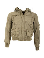 FREE SPIRIT DAMENJACKE SIBA Jacket, washed, khaki