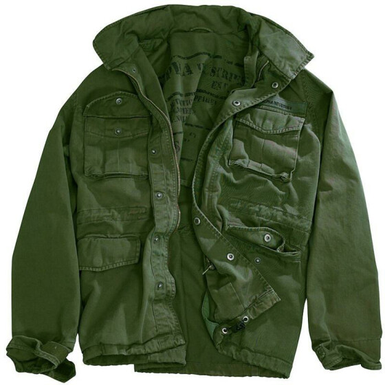 Alpha Industries Combat Jacket, olive