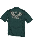 Alpha Industries Flying A Shirt, black M
