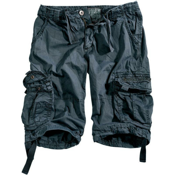 Alpha Industries  JET Shorts, greyblack 33 inches