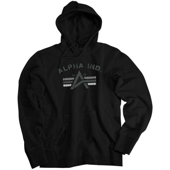 Alpha Industries Big A Hoody, black