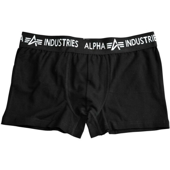 Alpha Industries Bodywear Boxer Trunk, black