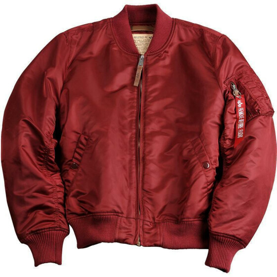 Alpha Industries  MA-1 VF 59, burgundy M