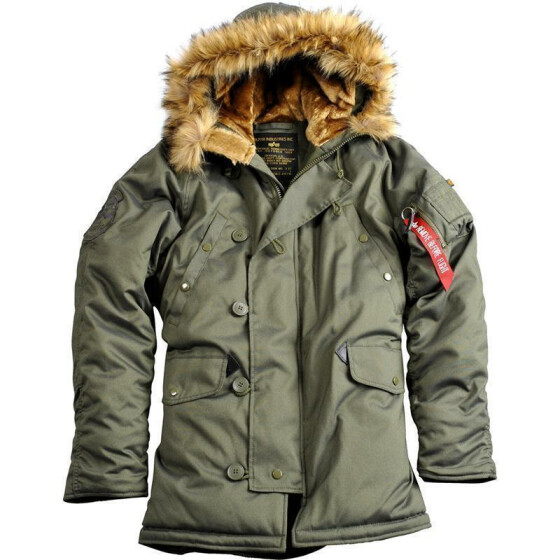 Alpha Industries  EXPLORER, dark green