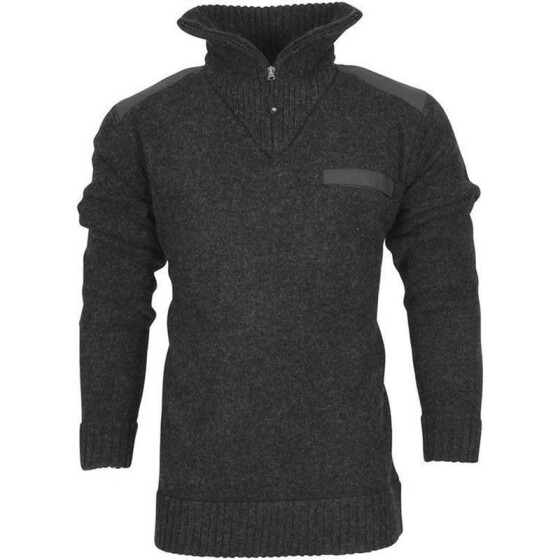 LIFE LINE Brooksville Mens Knitted Sweater, grau