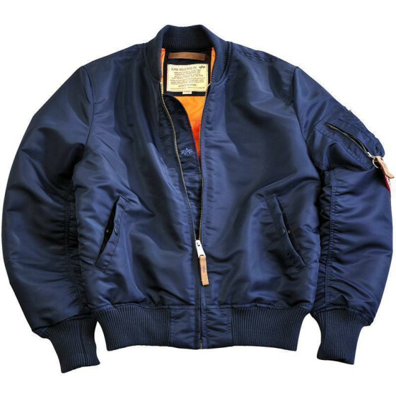Alpha Industries  MA-1 VF 59, rep. blue S