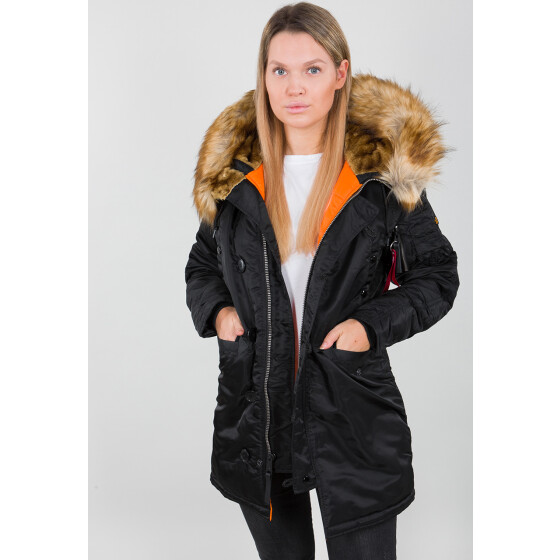 Alpha Industries N3B VF 59 wmn (Damen), black S