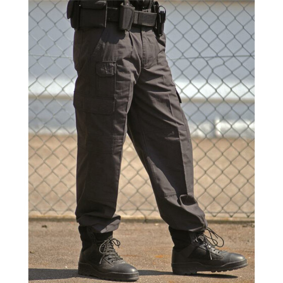 MILTEC Security Seven Pocket Pants, schwarz L