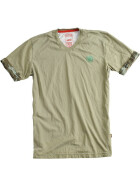 Alpha Industries Camo Back T, olive M