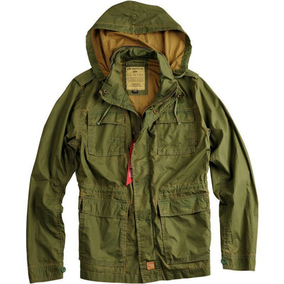 Alpha Industries Trail Jacket, olive