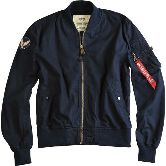 Alpha Industries MA-1 Ground Crew, rep. blue