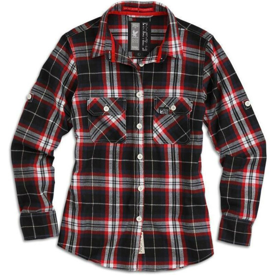 SURPLUS LUMBERJACK SHIRT, rot