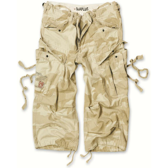 SURPLUS Engineer Vintage 3/4-Pants, desert storm L / 96 cm